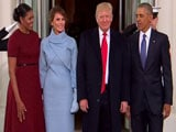 Video : Donald Trump Meets Obamas Ahead Of Taking Oath As US President