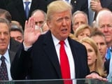 Video: Donald Trump Sworn In With Somewhat Subdued Ceremony