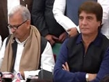 Video : Samajwadi Party, Congress Announce Alliance For Uttar Pradesh Elections