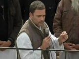 Video : Punjab Elections 2017: Arvind Kejriwal Backing Those Behind Blast, Says Rahul Gandhi