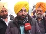 Video : Don't Put Words In My Mouth: AAP's Bhagwant Man On Chief Ministerial Projection