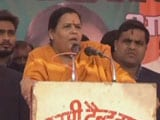 Video: Uma Bharti Says As Chief Minister, 'Tortured Rapists Till They Begged'