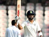 Video: Virat Kohli's Double Ton Puts Hosts In Command Of Hyderabad Test