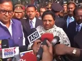 Video: UP Election 2017: Mayawati Casts Her Vote In Lucknow, Confident Of Victory