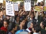 Video: Centre Asks For Report On Ramjas College Protest, 3 Cops Suspended