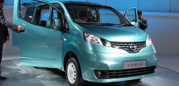 Nissan launches Evalia at Rs 8.5 lakh