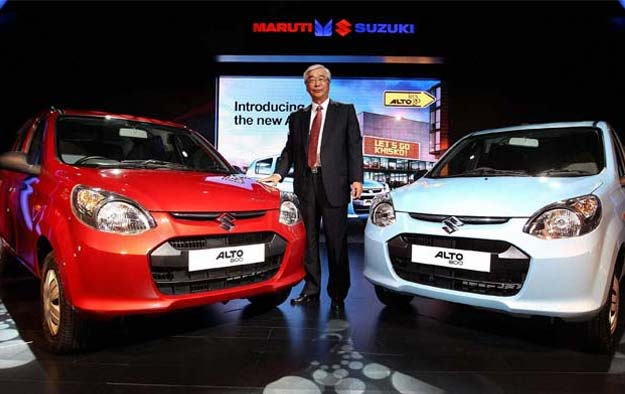 Maruti Alto 800 launched at Rs 2.44 lakh