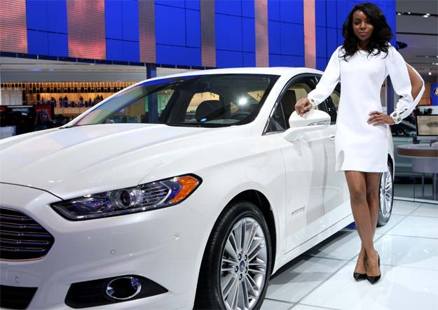 Ford Fusion named Green Car of the Year