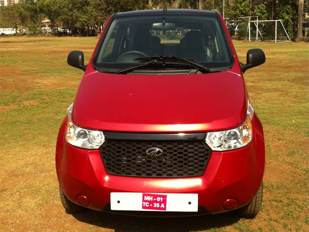 Mahindra launches electric car e2o at Rs 5.96 lakh