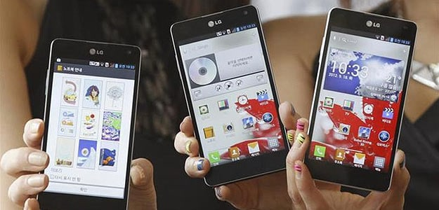 LG becomes No. 3 smartphone maker by sales as Apple, Samsung maintain lead