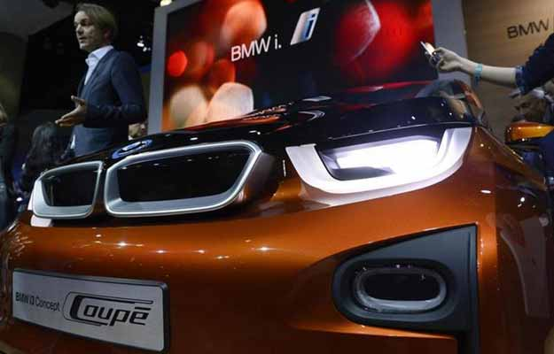 BMW set to unveil its first all-electric car, the i3