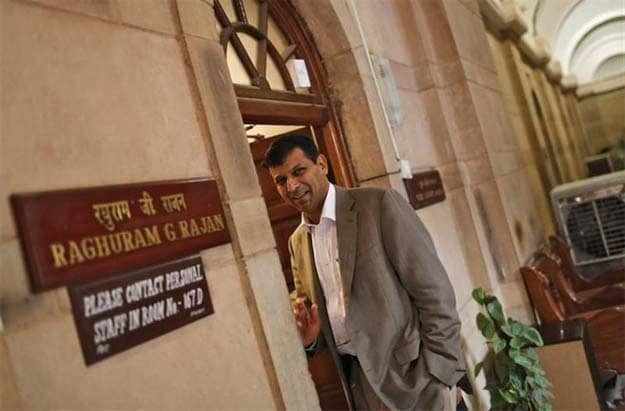 Star economist takes over India's central bank amid crisis