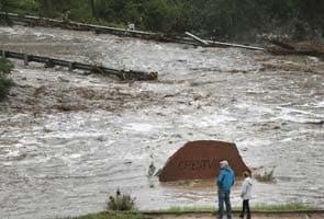 अमेरिका के कोलोराडो में बाढ़, सैकड़ों लापता