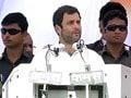 मुजफ्फरनगर दंगा पीड़ितों पर राहुल गांधी के बयान को लेकर विवाद