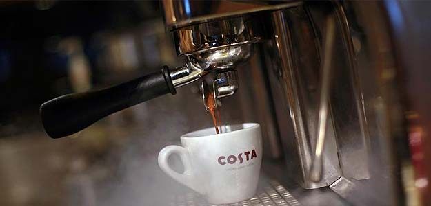 Costa aims for offices with new, smaller coffee machine 'Marlow'