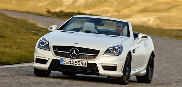 Mercedes Slk 55 Amg Launched
