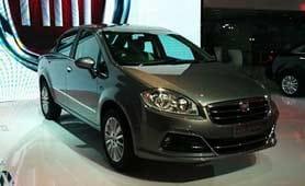 2014 Auto Expo: Fiat Linea facelift unveiled