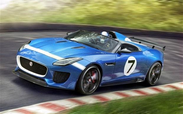 Jaguar to showcase Project 7 at the Delhi Auto Expo