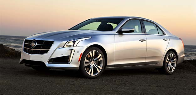 Cadillac CTS version 3.0, now fluent in German