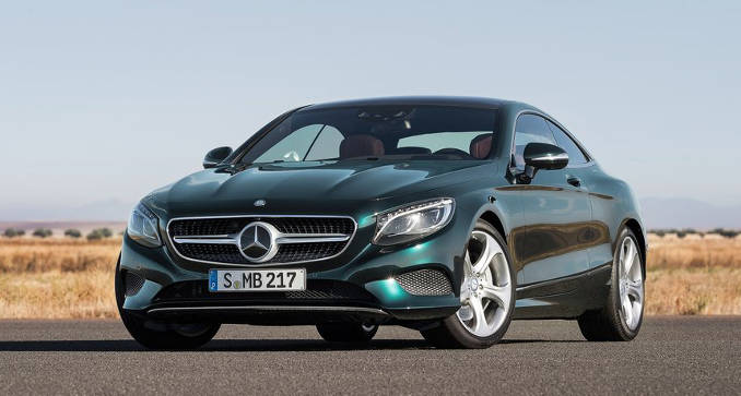 Drool Worthy! The Mercedes-Benz S-Class Coupe