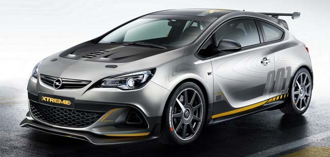 Geneva Motorshow Preview: GM's hot hatch Opel Astra OPC Xtreme Concept leaked