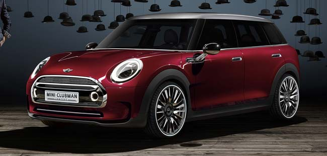Geneva Motorshow Preview: MINI Clubman Concept