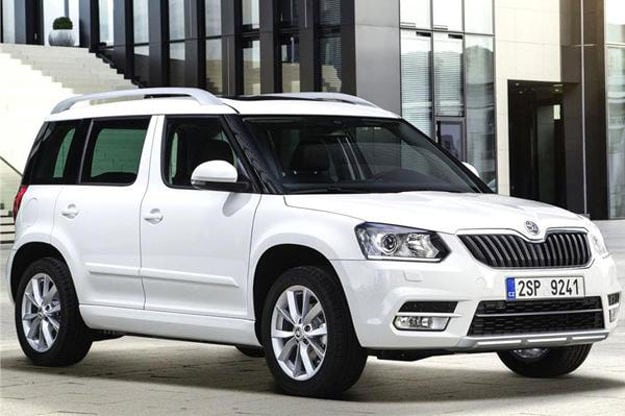 2014 skoda yeti facelift coming to 2014 auto expo ndtv carandbike. Black Bedroom Furniture Sets. Home Design Ideas