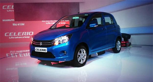 Auto Expo 2014: Maruti Celerio launched at Rs 3.90 lakh