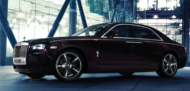 Rolls Royce Rolls Out Ghost Limited Edition At Rs 466 Crore
