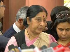 संसद में जो हुआ, वह 'कांग्रेस का ड्रामा' था : सुषमा स्वराज