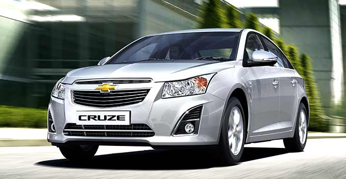 2014 chevrolet cruze facelift launched ndtv carandbike. Black Bedroom Furniture Sets. Home Design Ideas