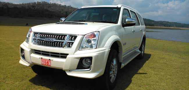 Review: Isuzu MU-7