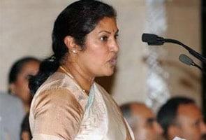 बीजेपी में शामिल हुईं एनटीआर की बेटी डी पुरंदेश्वरी