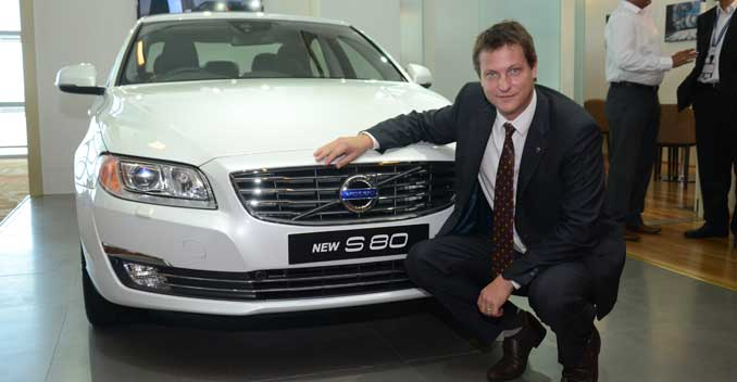 2014 Volvo S80 facelift launched