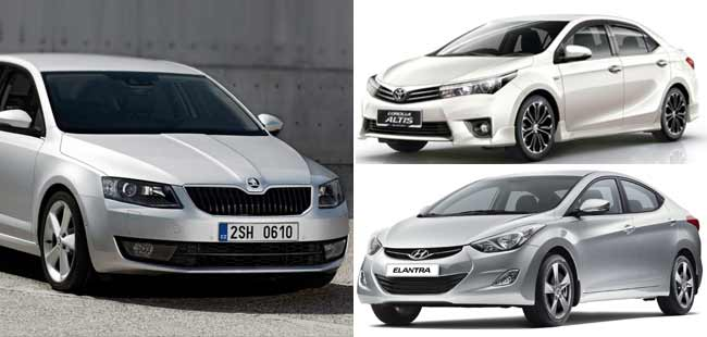 Fight to the Finish: Toyota Corolla Altis vs Hyundai Elantra vs Skoda Octavia