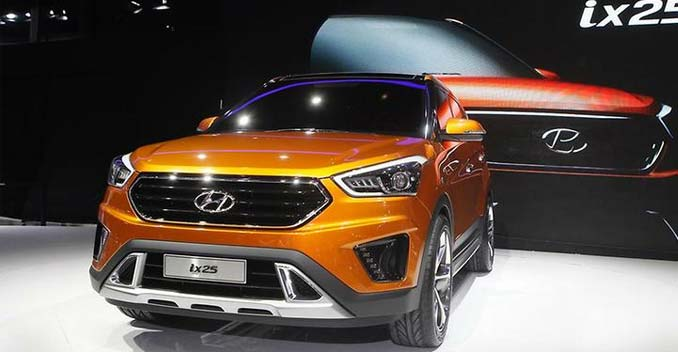 Hyundai ix25 Compact SUV - Expected Price, Launch and ...