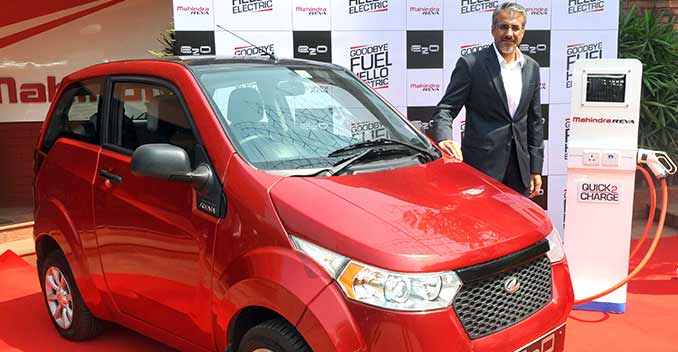 Mahindra, Zoomcar Start Electric Car Sharing Service In Metro Cities