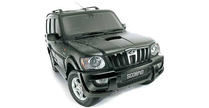 Mahindra Scorpio bulletproof version for the people on target