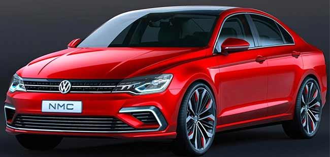 2014 Beijing Motorshow Volkswagens New Midsize Coupe Concept