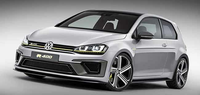 2014 Beijing Motorshow: Volkswagen reveals the Golf R400