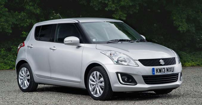2014 Maruti Suzuki Swift Facelift