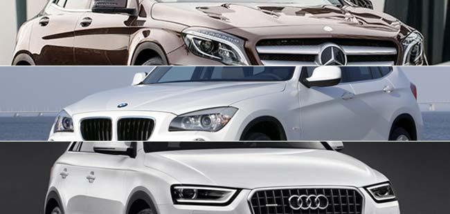Comparison: BMW X1 vs Audi Q3 vs Mercedes-Benz GLA