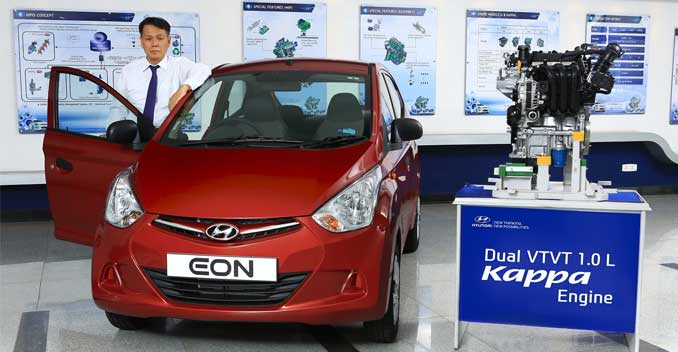 Hyundai Eon's 1.0-litre Variant Officially Launched