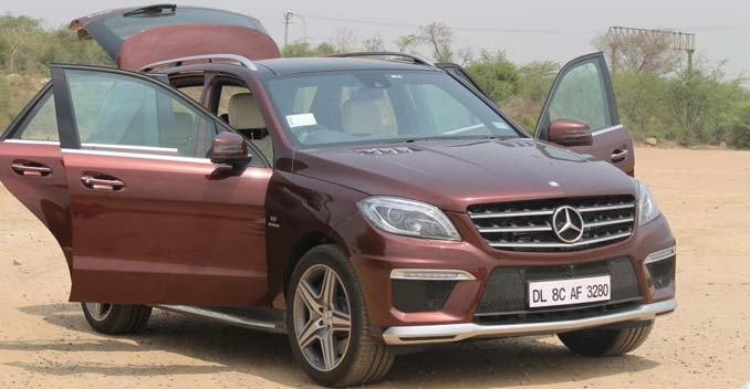 Mighty & Muscular: Mercedes-Benz ML 63 AMG
