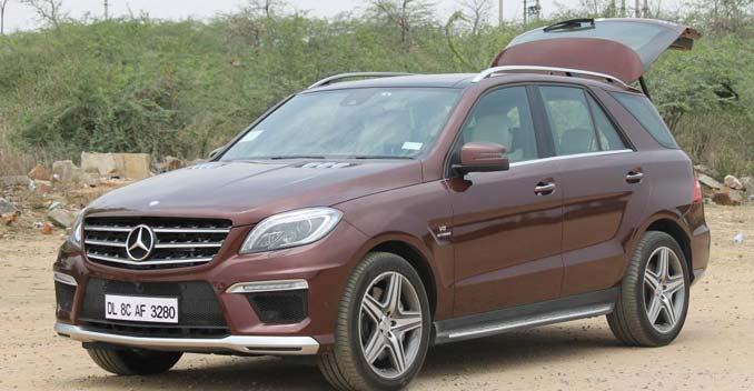 Mercedes ML 63 AMG Review