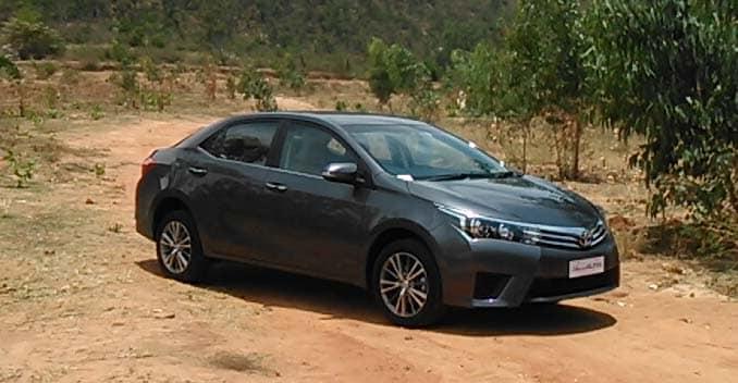 First Drive: 2014 Corolla Altis