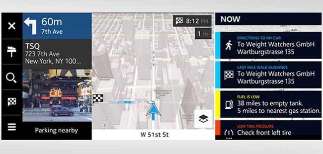 Nokia Reveals Here Auto Connected Car Navigation System - NDTV