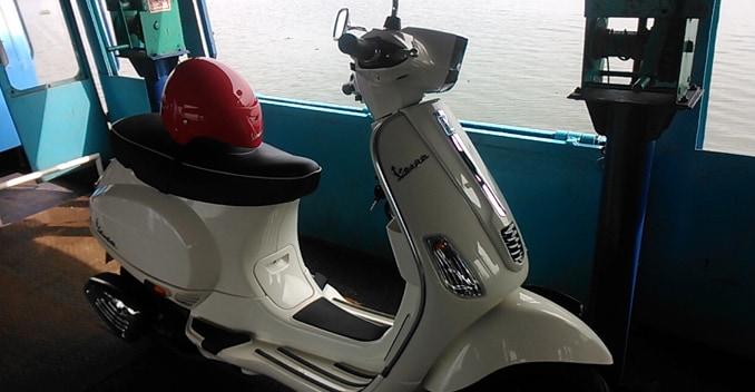 Piaggio Vespa S ride