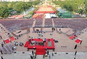 नरेंद्र मोदी के शपथ ग्रहण समारोह के लिए राष्ट्रपति भवन तैयार