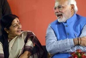 सुषमा स्वराज बनीं देश की पहली महिला विदेशमंत्री